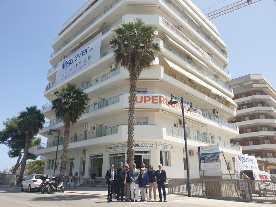 Superbonus 110%, primo cantiere portato a termine in Italia
