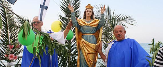 Madonna sul mare - Festa dell'Assunta