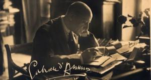 Routen von Gabriele D'Annunzio